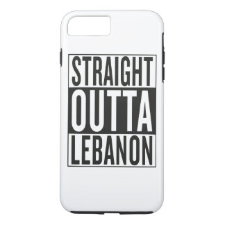 straight outta Lebanon iPhone 7 Plus Case