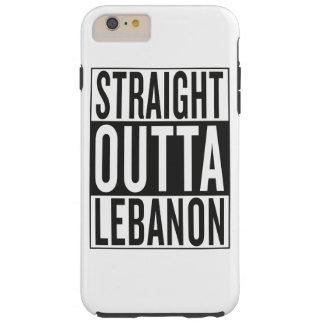 straight outta Lebanon Tough iPhone 6 Plus Case