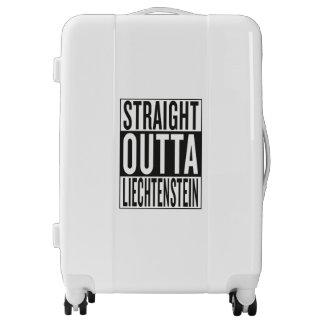 straight outta Liechtenstein Luggage