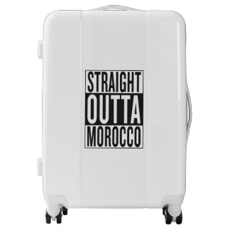 straight outta Morocco Luggage