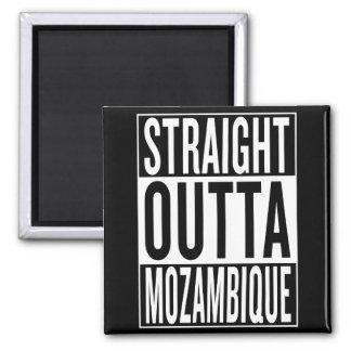 straight outta Mozambique Square Magnet