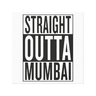 straight outta Mumbai Canvas Print