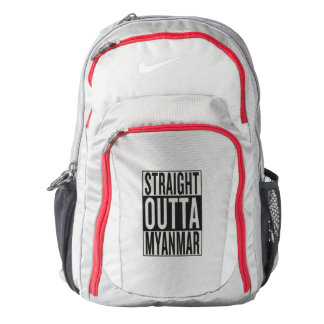 straight outta Myanmar Backpack