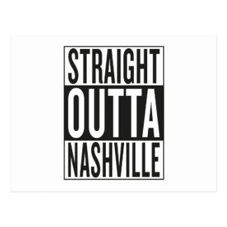 straight outta Nashville Postcard