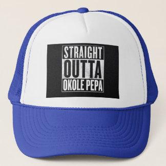 Straight Outta Okole Pepa Trucker Hat