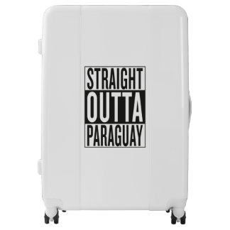 straight outta Paraguay Luggage