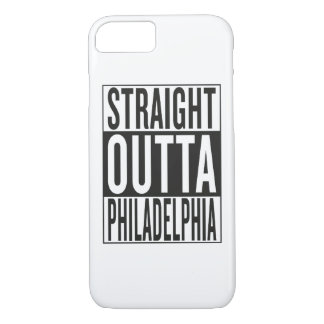 straight outta Philadelphia iPhone 7 Case