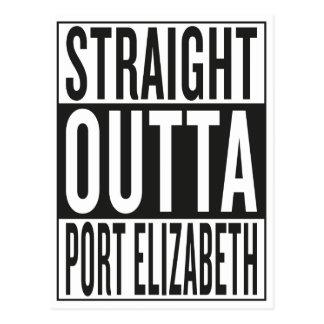 straight outta Port Elizabeth Postcard