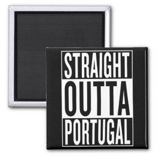 straight outta Portugal Square Magnet