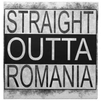 Straight Outta Romania Napkin