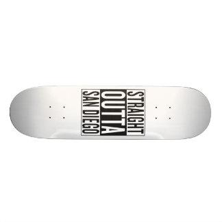 straight outta San Diego 20 Cm Skateboard Deck