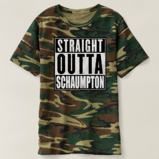 Straight Outta Schaumpton - GLOVER T-Shirt