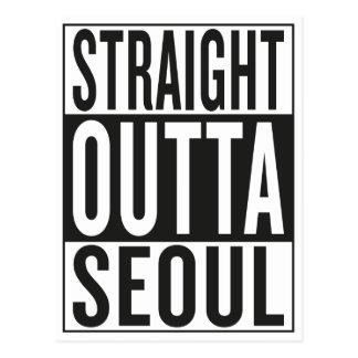 straight outta Seoul Postcard