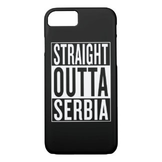 straight outta Serbia iPhone 7 Case
