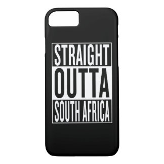 straight outta South Africa iPhone 7 Case