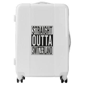 straight outta Switzerland Luggage