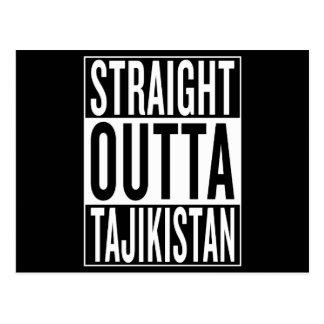 straight outta Tajikistan Postcard