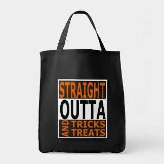 Straight Outta Tricks and Treats Funny Halloween