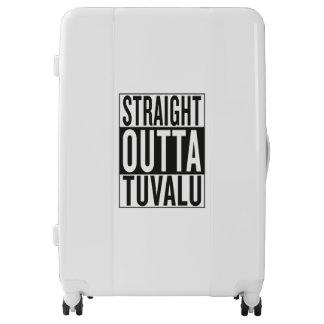 straight outta Tuvalu Luggage