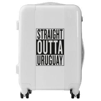 straight outta Uruguay Luggage