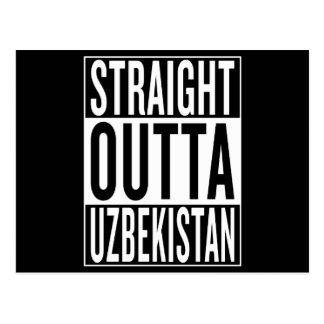 straight outta Uzbekistan Postcard