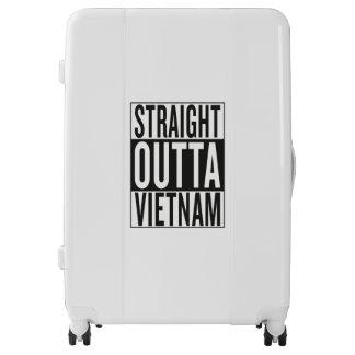 straight outta Vietnam Luggage
