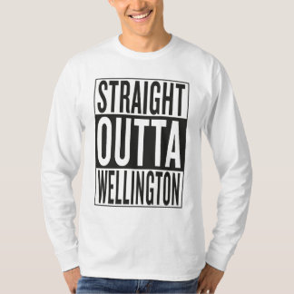 straight outta Wellington T Shirts