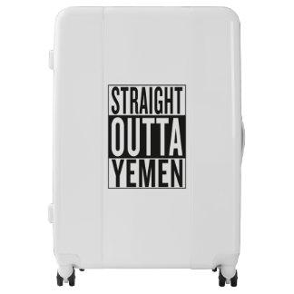 straight outta Yemen Luggage