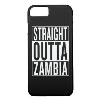 straight outta Zambia iPhone 7 Case