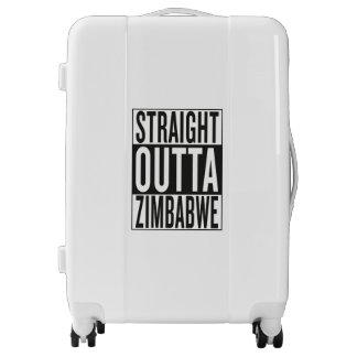 straight outta Zimbabwe Luggage