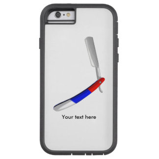 Straight Razor Barbers Shop Colours Tough Xtreme iPhone 6 Case