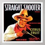 Straight Shooter Print