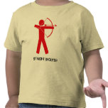 Straight Shooter (Red Archer) kids T