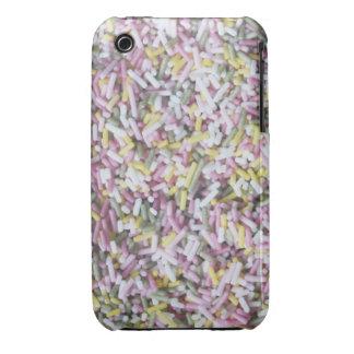Straight Sugar Sprinkles iPhone 3 Cases