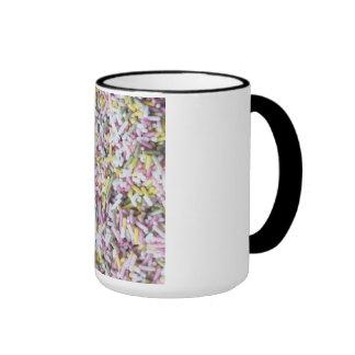 Straight Sugar Sprinkles Ringer Mug