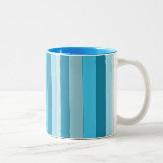 Straight Waves Coffee Mugs