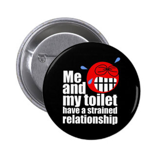 Strained Relationship Pinback Buttons