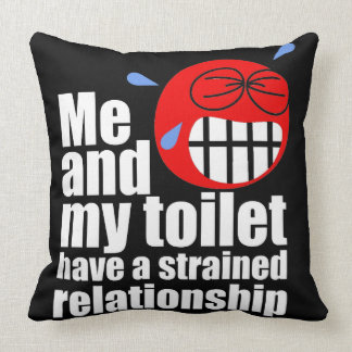 Strained Relationship Pillow