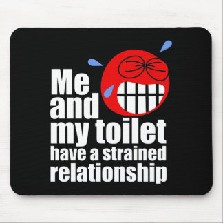 Strained Relationship Mousepads