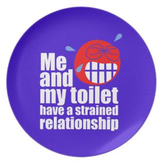 Strained Relationship Dinner Plate