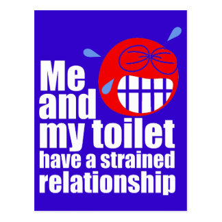 Strained Relationship Postcard