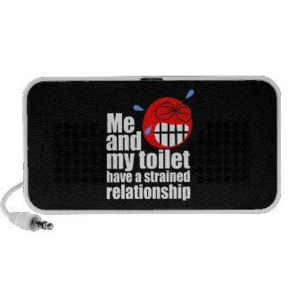 Strained Relationship Laptop Speaker