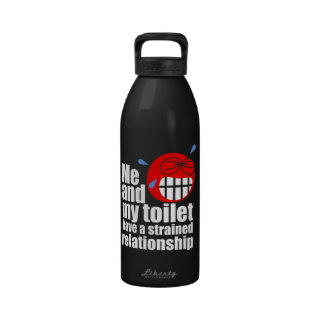 Strained Relationship Reusable Water Bottle
