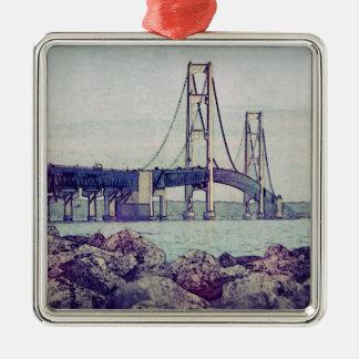 Straits of Mackinac Christmas Ornament