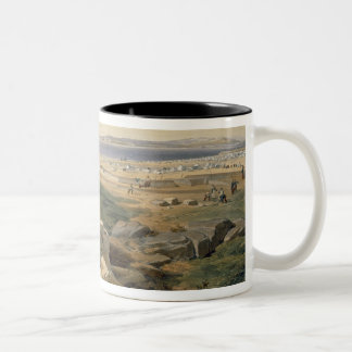 Straits of Yenikale, plate from 'The Seat of War i Two-Tone Coffee Mug