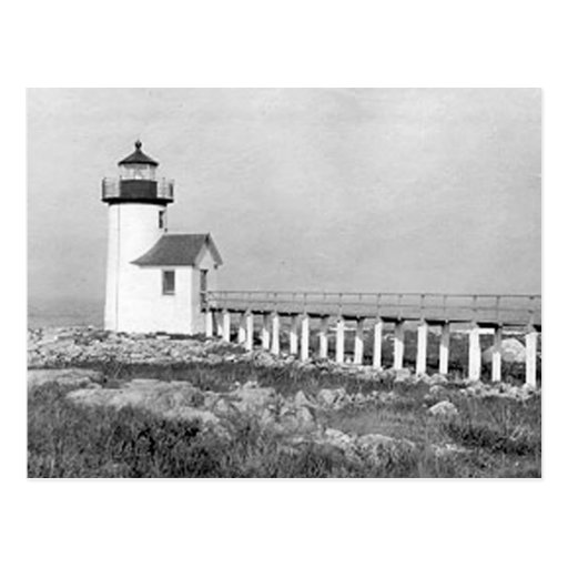Straitsmouth Island Lighthouse Postcards