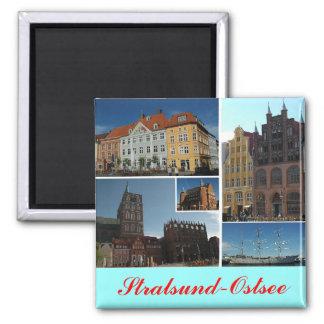 Stralsund Square Magnet