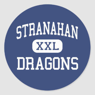 Stranahan - Dragons - High - Fort Lauderdale Round Stickers