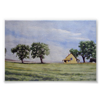 Stranded House on the Prarie- poster