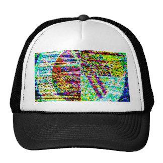 Strands,Diamond, Hand n Foort Print,Clock,Time FUN Trucker Hat